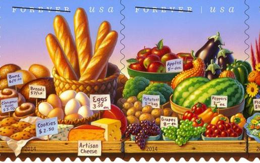 Commemorative USPS postage stamp